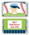 Future Baseball Player - Personalized Baby Shower Mini Candy Bar Wrappers thumbnail