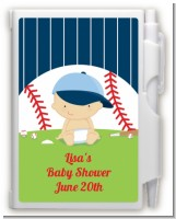 Future Baseball Player - Baby Shower Personalized Notebook Favor