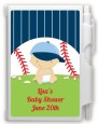 Future Baseball Player - Baby Shower Personalized Notebook Favor thumbnail
