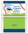 Future Baseball Player - Personalized Popcorn Wrapper Baby Shower Favors thumbnail