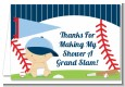 Future Baseball Player - Baby Shower Thank You Cards thumbnail