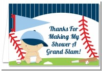 Future Baseball Player - Baby Shower Thank You Cards