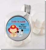 Future Firefighter - Personalized Baby Shower Candy Jar