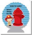 Future Firefighter - Personalized Birthday Party Centerpiece Stand thumbnail