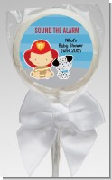 Future Firefighter - Personalized Baby Shower Lollipop Favors