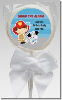 Future Firefighter - Personalized Birthday Party Lollipop Favors