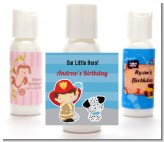 Future Firefighter - Personalized Birthday Party Lotion Favors
