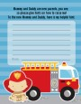 Future Firefighter - Baby Shower Notes of Advice thumbnail