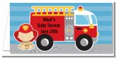 Future Firefighter - Personalized Baby Shower Place Cards