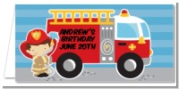 Future Firefighter - Personalized Birthday Party Place Cards