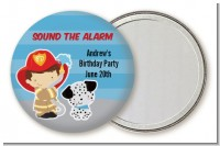 Future Firefighter - Personalized Birthday Party Pocket Mirror Favors