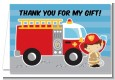 Future Firefighter - Birthday Party Thank You Cards thumbnail