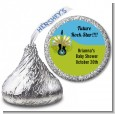 Future Rock Star Boy - Hershey Kiss Baby Shower Sticker Labels thumbnail