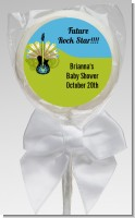 Future Rock Star Boy - Personalized Baby Shower Lollipop Favors