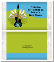 Future Rock Star Boy - Personalized Popcorn Wrapper Baby Shower Favors