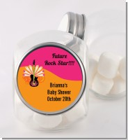 Future Rock Star Girl - Personalized Baby Shower Candy Jar