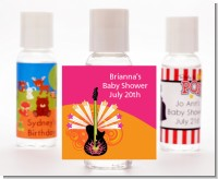 Future Rock Star Girl - Personalized Baby Shower Hand Sanitizers Favors
