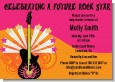 Future Rock Star Girl - Baby Shower Invitations thumbnail