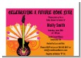 Future Rock Star Girl - Baby Shower Petite Invitations thumbnail