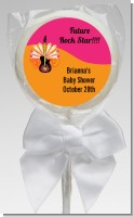 Future Rock Star Girl - Personalized Baby Shower Lollipop Favors