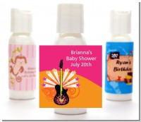 Future Rock Star Girl - Personalized Baby Shower Lotion Favors