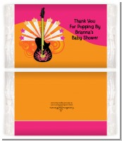Future Rock Star Girl - Personalized Popcorn Wrapper Baby Shower Favors