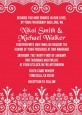 Love is Blooming Red - Bridal Shower Invitations thumbnail