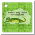 Gator - Personalized Baby Shower Card Stock Favor Tags thumbnail