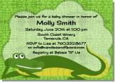 Gator - Baby Shower Invitations