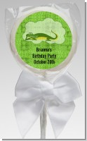 Gator - Personalized Birthday Party Lollipop Favors