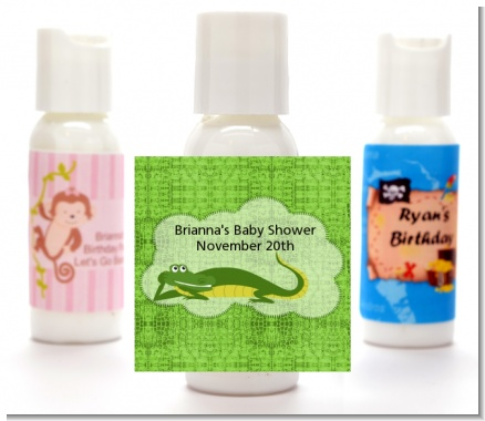 Gator - Personalized Baby Shower Lotion Favors