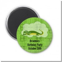 Gator - Personalized Baby Shower Magnet Favors