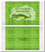 Gator - Personalized Popcorn Wrapper Baby Shower Favors