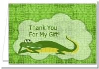Gator - Baby Shower Thank You Cards