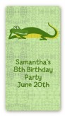 Gator - Custom Rectangle Birthday Party Sticker/Labels