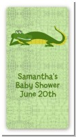 Gator - Custom Rectangle Baby Shower Sticker/Labels