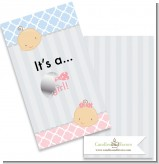 Gender Reveal - Girl - Baby Shower Scratch Off Game Tickets