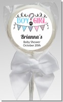 Gender Reveal Boy or Girl - Personalized Baby Shower Lollipop Favors