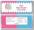Gender Reveal Cake - Personalized Baby Shower Candy Bar Wrappers thumbnail