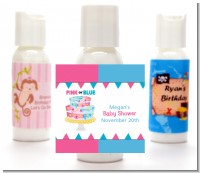 Gender Reveal Cake - Personalized Baby Shower Lotion Favors