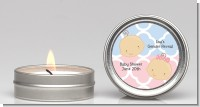 Gender Reveal - Baby Shower Candle Favors