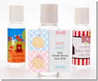 Gender Reveal - Personalized Baby Shower Hand Sanitizers Favors