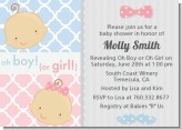 Gender Reveal - Baby Shower Invitations