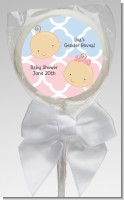 Gender Reveal - Personalized Baby Shower Lollipop Favors