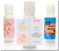 Gender Reveal - Personalized Baby Shower Lotion Favors
