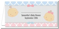 Gender Reveal - Personalized Baby Shower Place Cards
