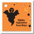Ghost - Personalized Halloween Card Stock Favor Tags thumbnail