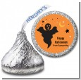 Ghost - Hershey Kiss Halloween Sticker Labels thumbnail