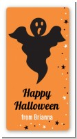 Ghost - Custom Rectangle Halloween Sticker/Labels