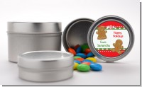 Gingerbread - Custom Christmas Favor Tins